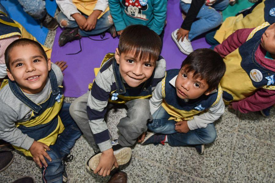 Alumnos de la escuela infantil 4879 de Orán poseen nuevo edificio, contiguo a la escuela Arturo Illia, donde se construyeron 6 salitas.