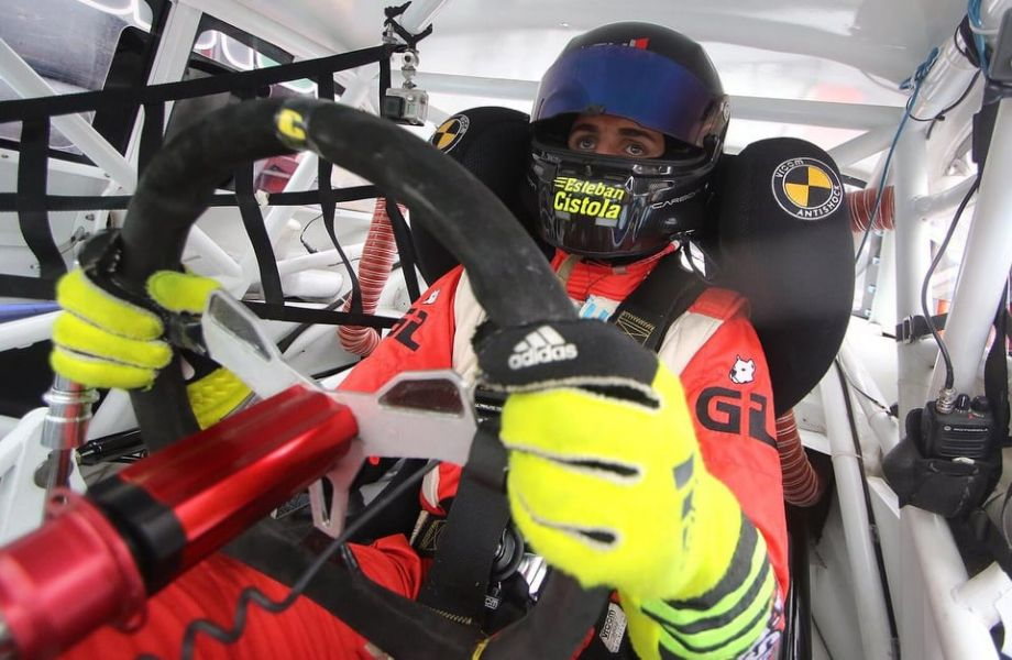 Esteban Cístola, cumplirá el martes 18  años y este fin de semana irá por eltriunfo en TC Pista en Rafaela.