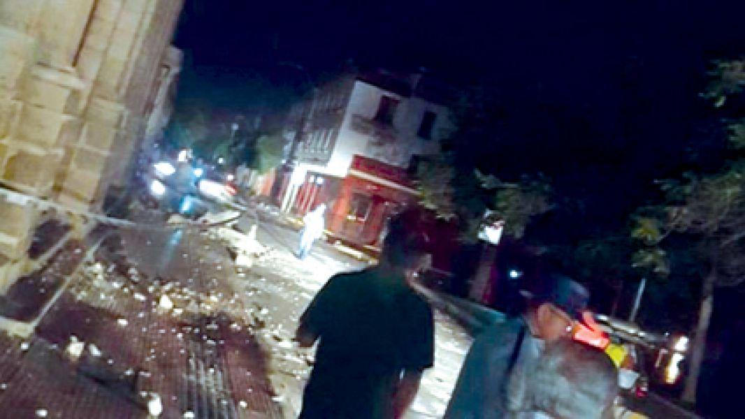El terremoto obligó a salir a miles de pobladores de localidades del norte y la selva peruana a las calles.