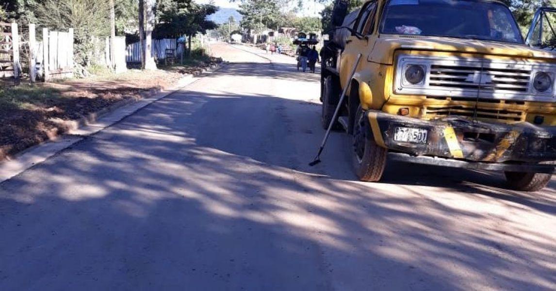 Fin de las tareas de pavimentación de calle Los Matos, que da continuidad a la avenida 9 de Julio de la ciudad norteña.