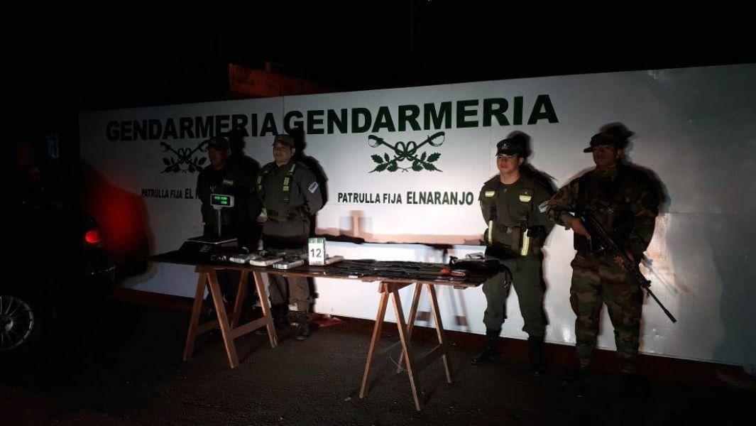 El estupefaciente estaba acondicionado en los zócalos y laterales de un vehículo que viajaba con destino a Tucumán.
