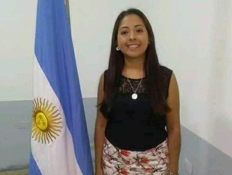 """La concejal de de Hipólito Yrigoyen, Lucía Rojas fue suspendida en su cargo por tratar de """"mentiroso"""" a otro concejal."""