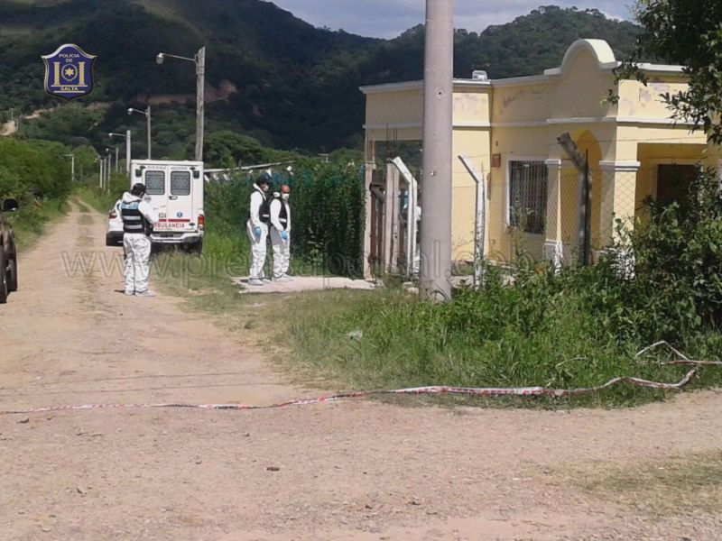 La vivienda donde fue hallada muerta Jimena Salas, a dos años del hecho sin detenidos, la investigación proseguirá con nuevos fiscales.