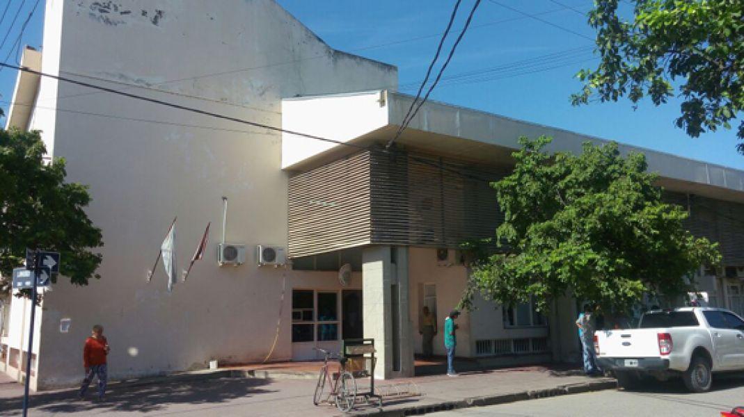 La sede judicial de Orán.