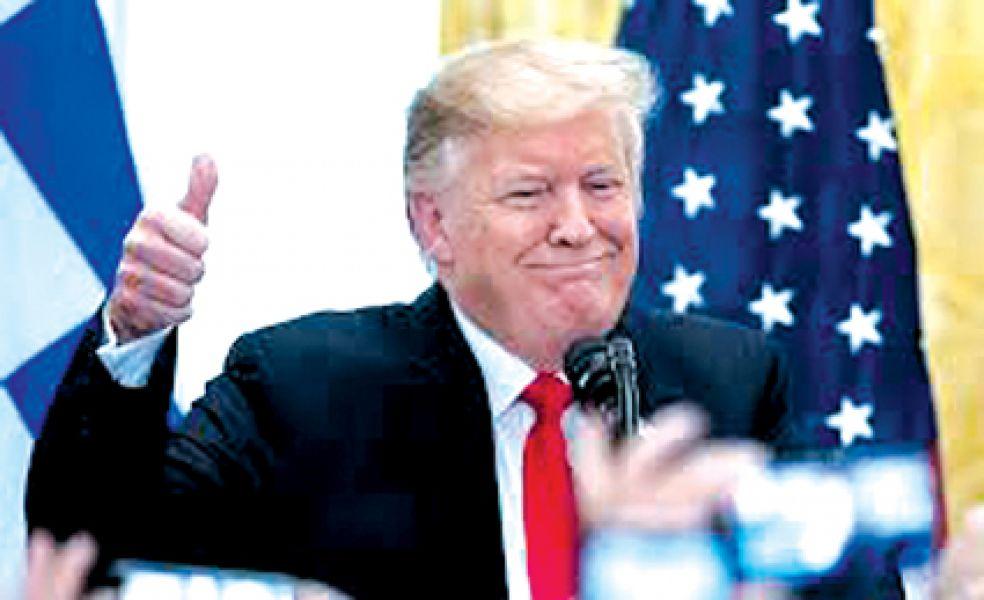 Donald Trump buscará ser reelecto en 2020.