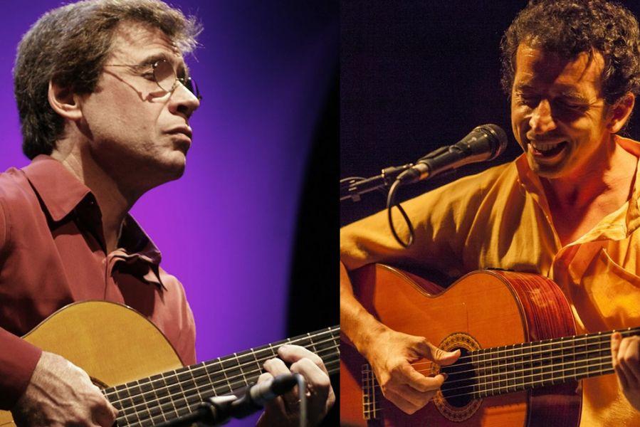 Carlos Moscardini y Juan Quinteros, dos de los notables compositores y músicos argentinos que vendrán este mes a Salta para unas jornadas.