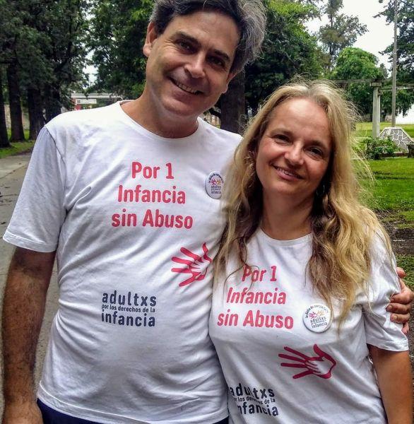 """Sebastián Cuattromo y Silvia Piceda se autodenominan """"sobrevivientes"""" del abuso sexual infantil, ya que ambos fueron víctimas de este delito."""