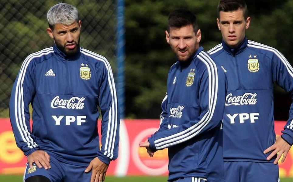 Agüero y Messi no coinciden esta vez.