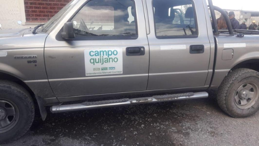 Una camioneta municipal de Campo Quijano apareció registrada a nombre de un particular en Salta. Piden informes al Intendente.