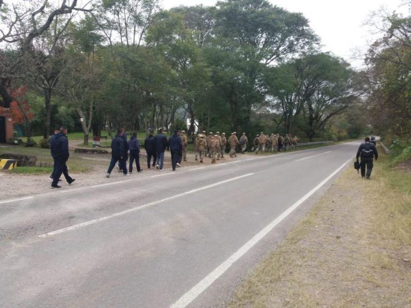 Se realiza un nuevo operativo de rastrillaje en campos de Ejercito de Salta, a dos años de la desaparición de la menor Gala Cancinos.