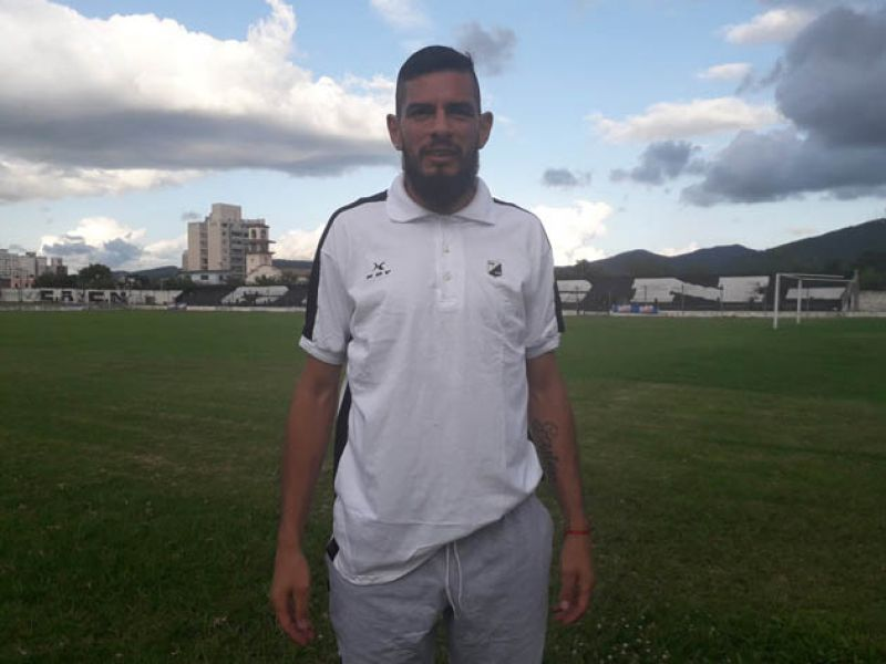 Federico Rodríguez, defensor de Central Norte.