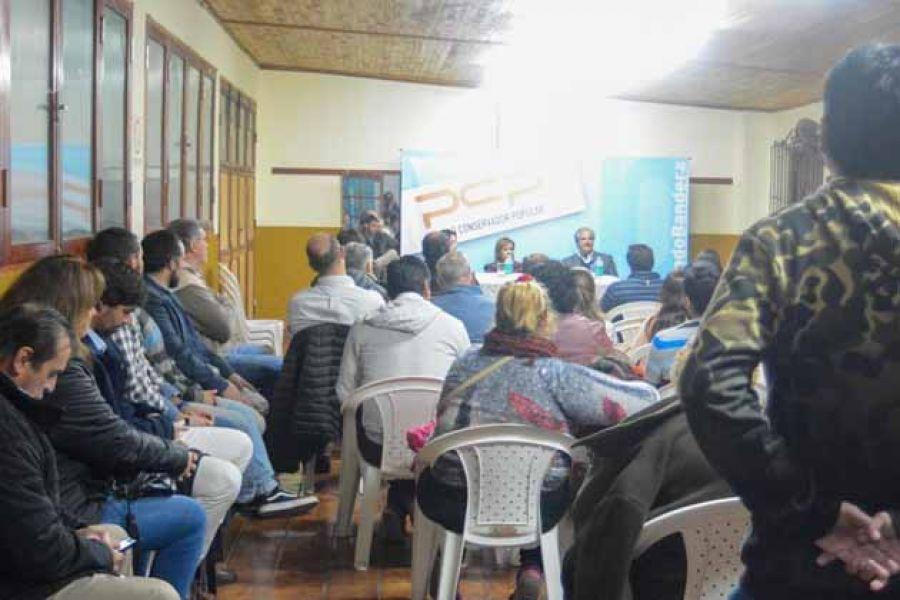 El Partido Conservador Popular viene construyendo una trayectoria sobre valores fundamentales, dijo el senador Durán Cornejo.