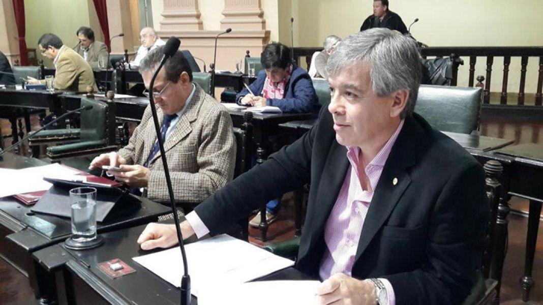 Senador Pablo González (Orán-Bloque Senadores por Salta).