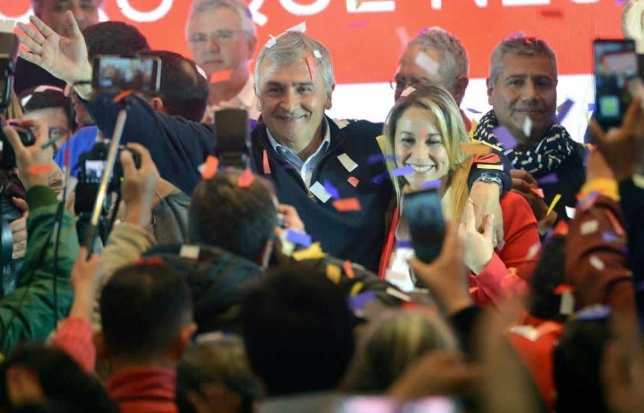 Morales ganó en Jujuy, le agradeció al Presidente y el Gobierno festeja por primera vez en el año.