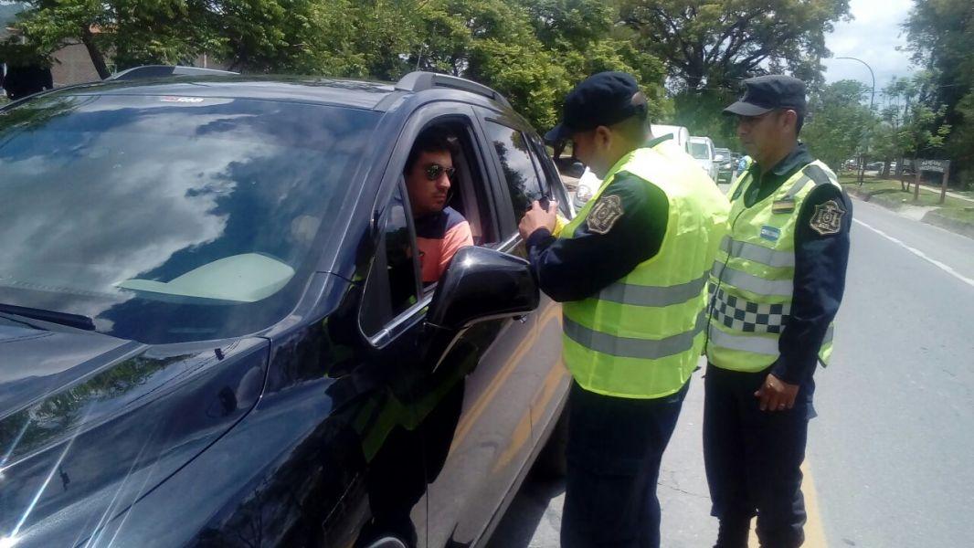 Controles por la Policía vial en 88 puntos de la provincia.