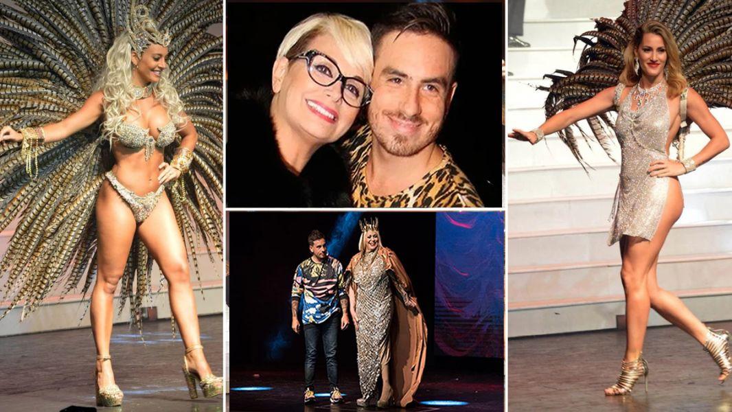 Carmen Barbieri y Federico Bal juntos en la revista porteña más convocante y que tiene como protagonista a la familia de la capocomica.