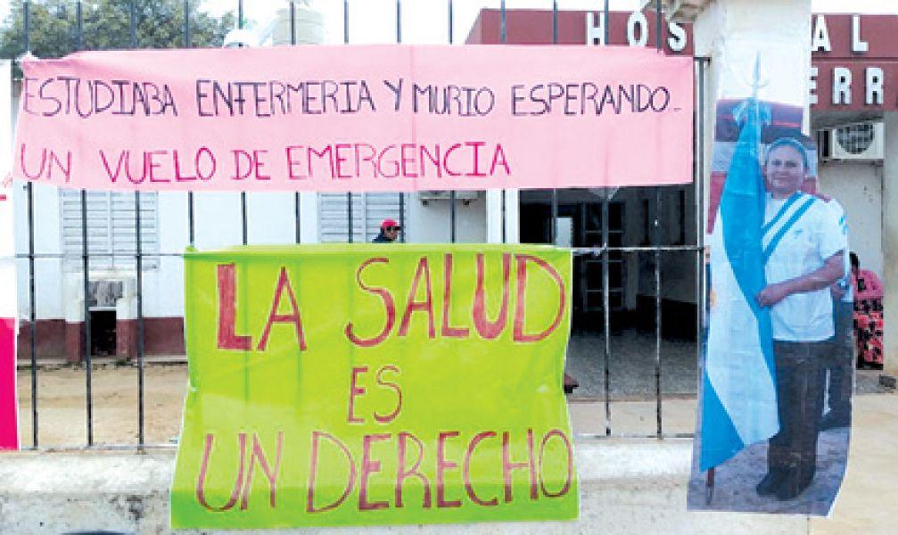 El hospital de Alto La Sierra en Santa Victoria Este se encuentra tomado por pobladores hace dos días por carencia de insumos sanitarios.