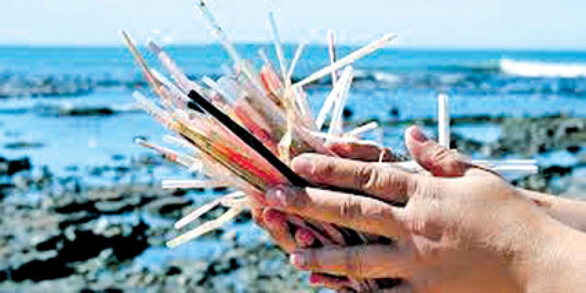 En muchas ciudades del país rige la prohibición de utilizar sorbetes de plástico.