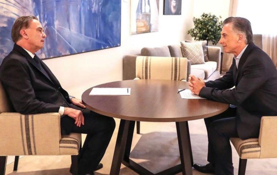 El presidente Mauricio Macri y su compañero de fórmula Michel Angel Pichetto se reunirá hoy en la Quinta de Olivos, luego viajarán a Neuquén.