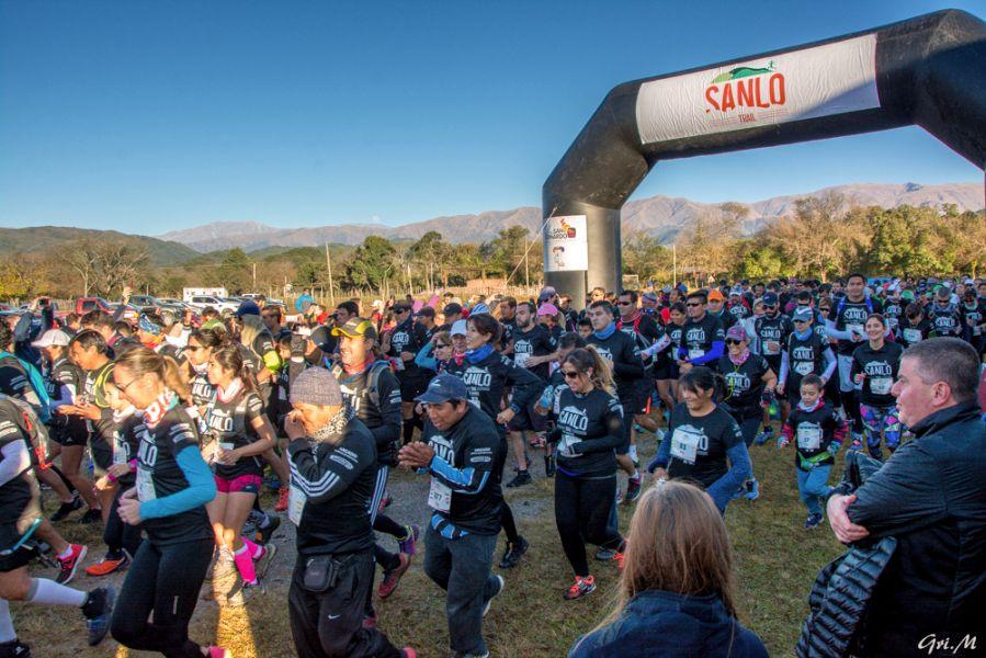 La Sanlo Trail reunirá un millar de atletas el domingo en San Lorenzo.