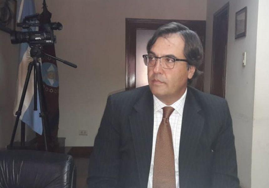 Gustavo Ferraris, presidente de la Auditoría General de la Provincia se reunión con representantes de un colectivo periodístico por pedido de informes
