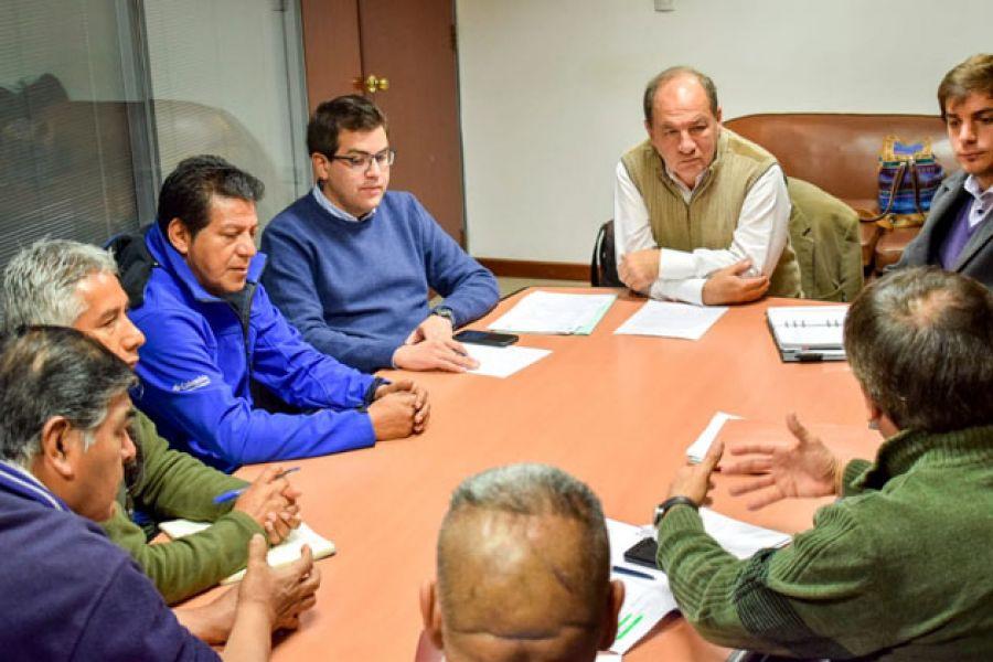 La reunión de los taxistas con la Municipalidad se enmarca en los objetivos del Plan de Movilidad Urbana.