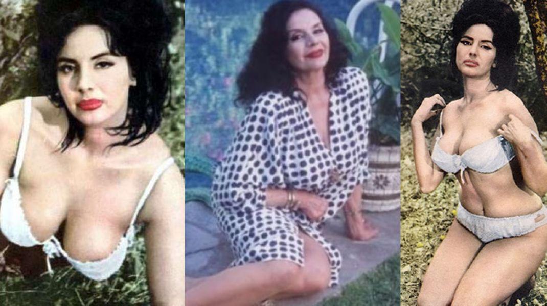 """Isabel Sarli fue protagonista de filmes como """"Carne"""", """"La leona"""" y """"La diosa impura"""", que la convirtieron en un símbolo sexual."""