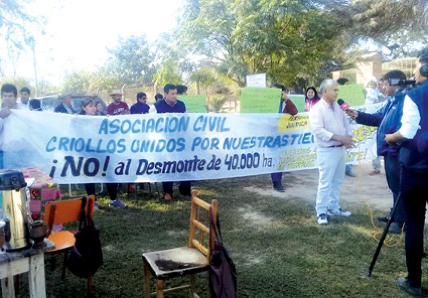 La concesión de 40 mil hectáreas más de área preservada de Salta Forestal sería para una Asociación de Productores de Legumbres.
