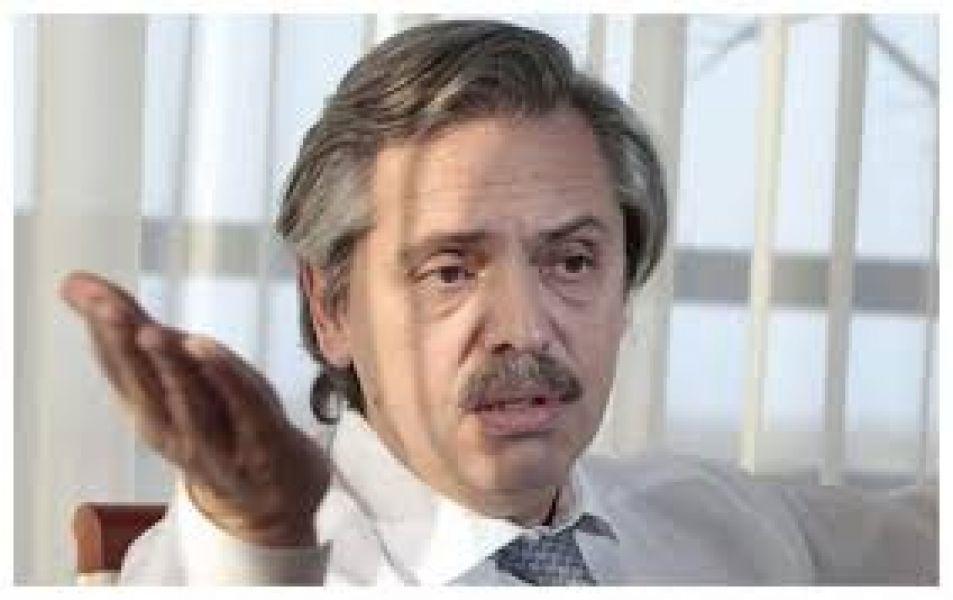 Alberto Fernández, precandidato a presidente del Frente de Todos.
