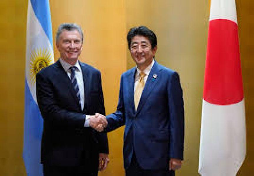 El presidente, Mauricio Macri se reunió con el primer ministro de Japón, Shinzo Abe.