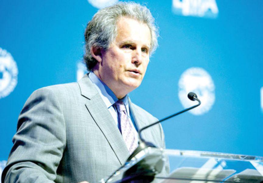 David Lipton, gerente del FMI, quien reemplazó a la renunciante Christi- ne  Lagarde.
