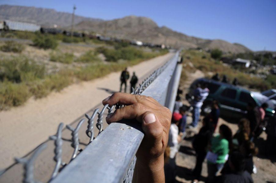 La Guardia Nacional es la encargada de patrullar las fronteras de México con EE.UU.