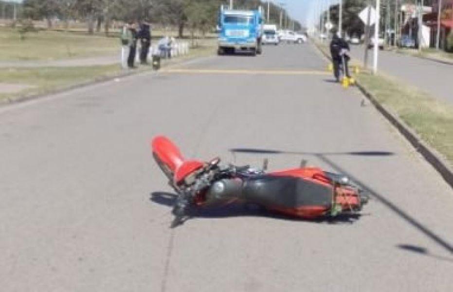 El accidente fatal se registró en la avenida San Martín de la localidad de Las Lajitas.