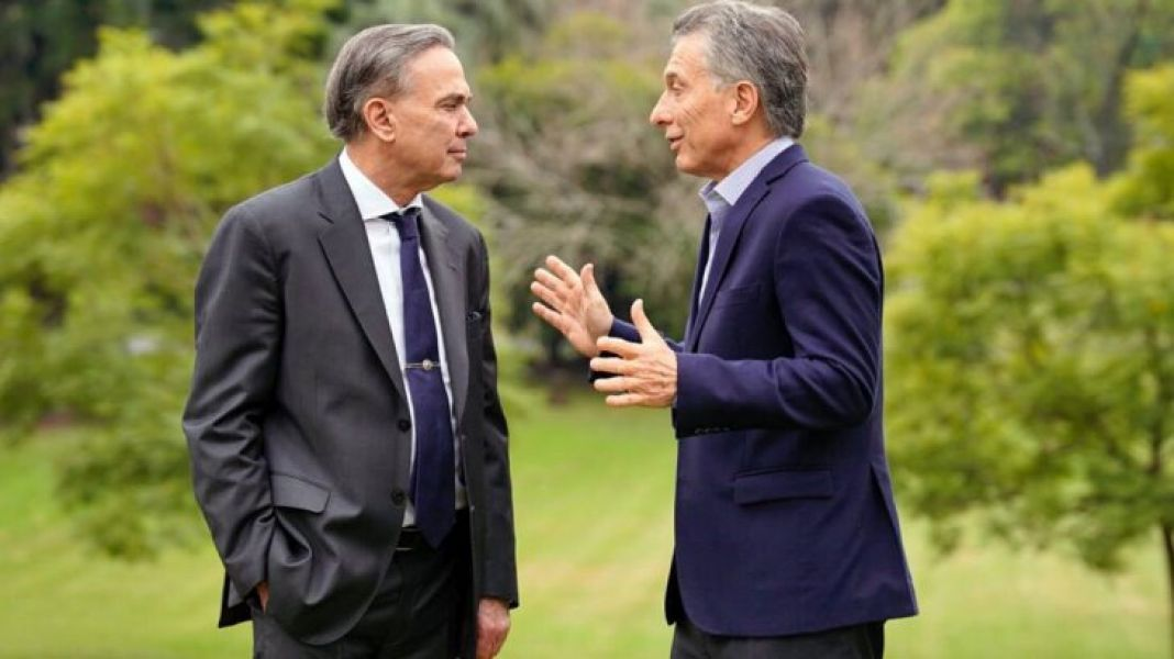 Mauricio Macri y Miguel Pichetto.