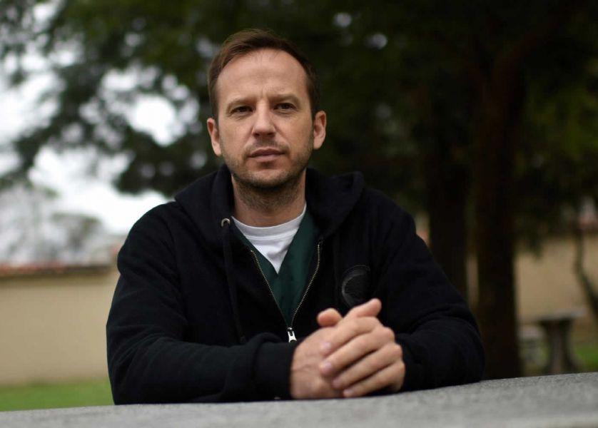 Pablo Huck, un sobreviviente de abusos eclesiales, cuya causa logró la condena de su victimario, 20 años después de ocurrido.