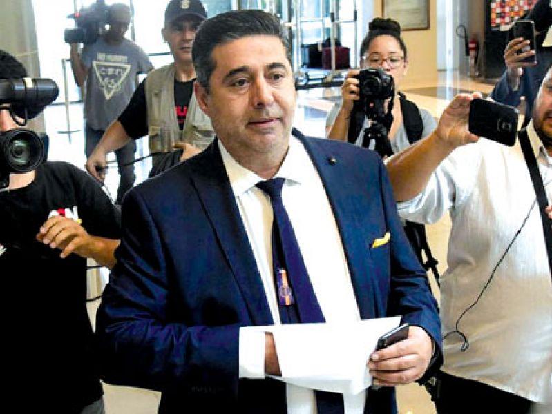 Daniel Angelici busca cerrar la incorporación de Salvio.