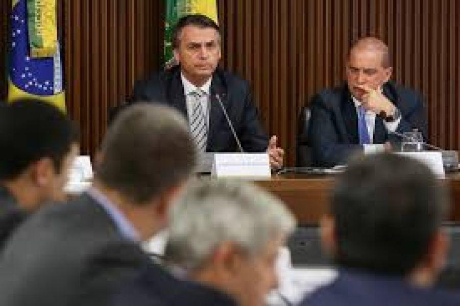 Reunión del gabinete de Brasil.