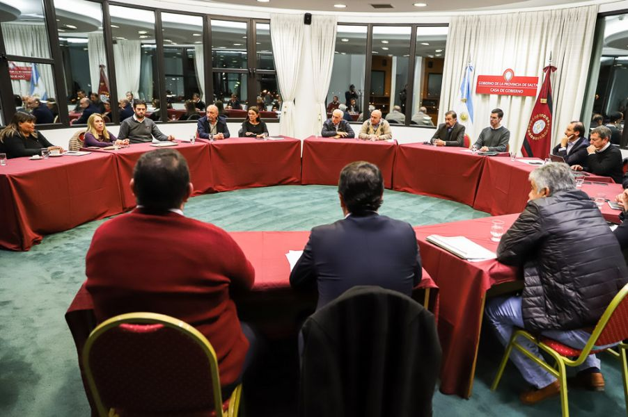 En la reunión del Gabinete se dijo que el diálogo con los docentes estaba prevista para el 23 de julio, pero se la reprogramó para hoy.
