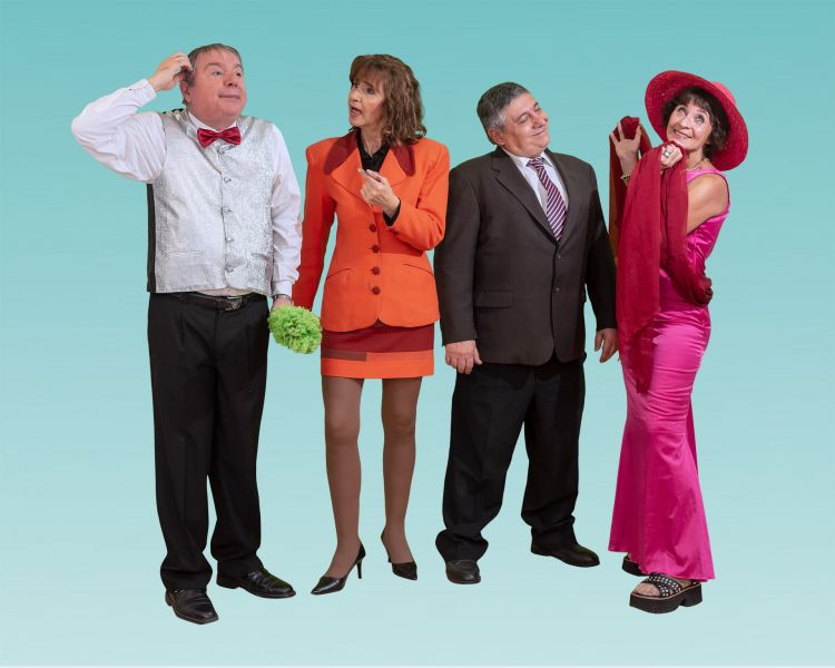 """""""Caprichos"""", la comedia electoral del 2019, debuta el 19 y 20 de julio en la sala de la Fundación Salta."""