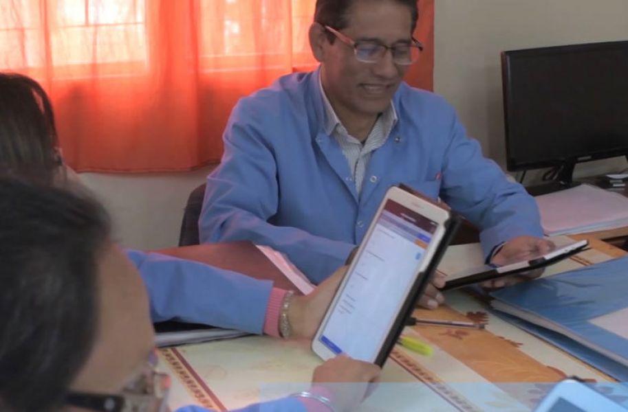 Un centenar de Agentes Sanitarios registran y monitorean en forma digital el estado sociosanitario de la población a través de una APP.