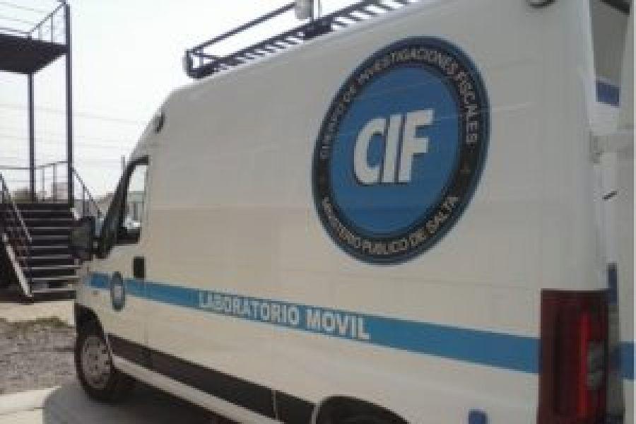 El cuerpo fue trasladado al Servicio de Tanatología Forense del CIF.