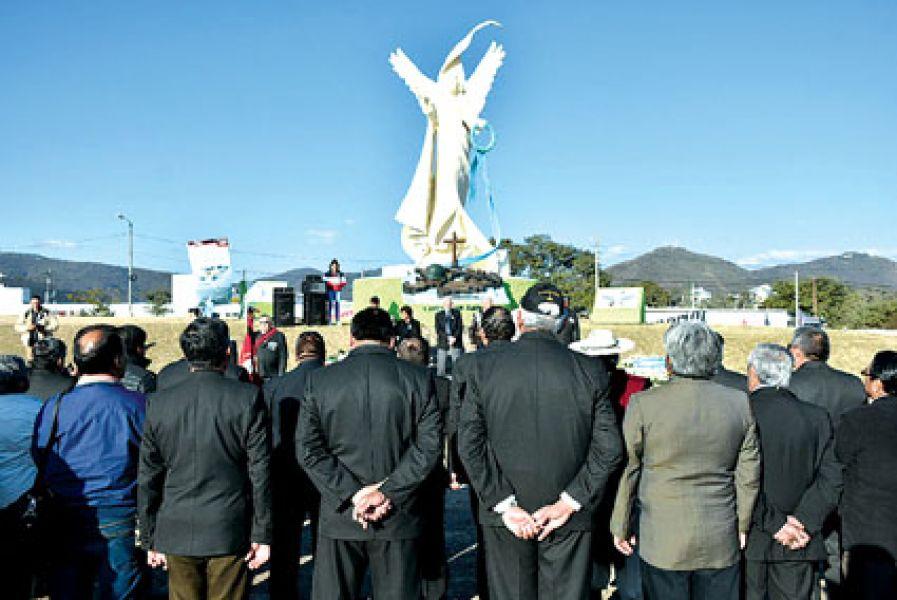 """Fueron recordados ayer como """"héroes de la Patria""""."""