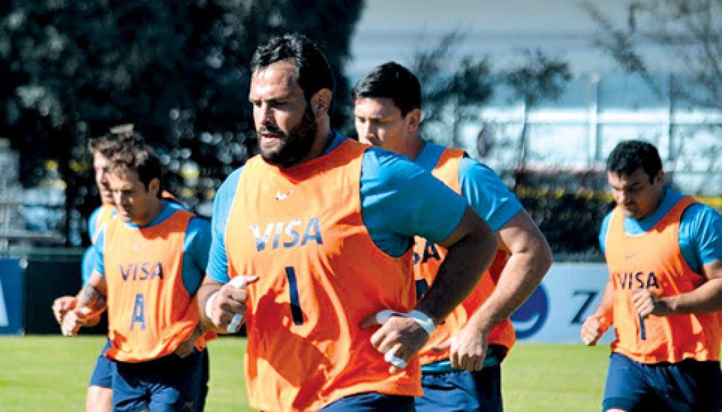 Figallo entrena con Los Pumas en el Jockey Club, donde se formó como jugador. (Foto: Gentileza Norte Rugby.com - Jorge Skaf).