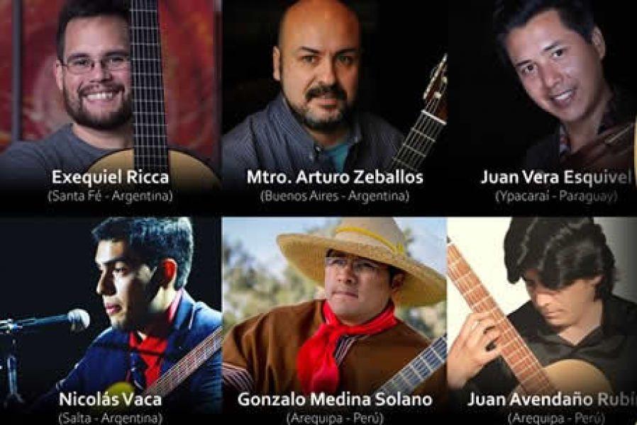 Maestros guitarristas de varios países fueron invitados al Festival Internacional de Guitarras para dos conciertos gratuitos en Mitre 23.