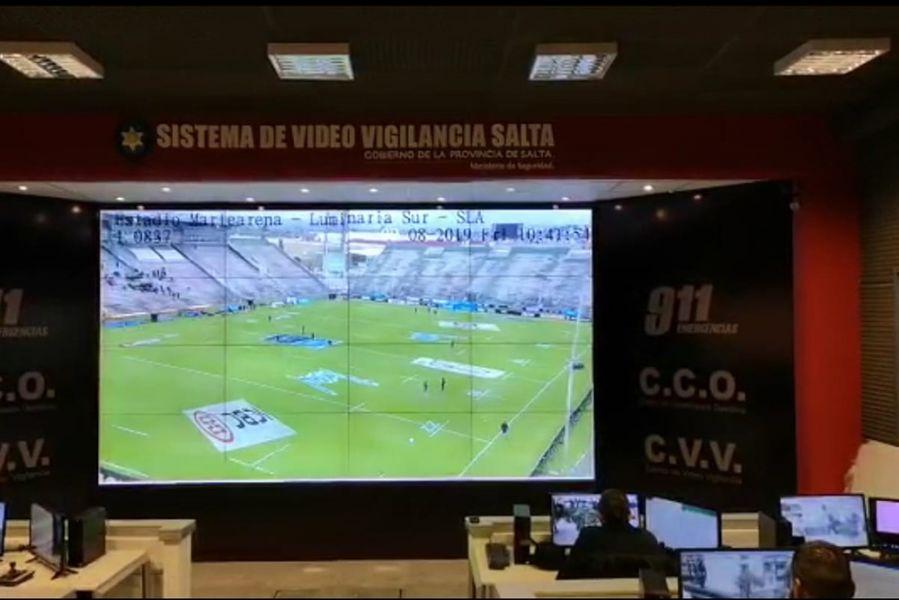 El operativo de seguridad se desplegará antes, durante y después del partido de rugby, hasta la desconcentración total del público.