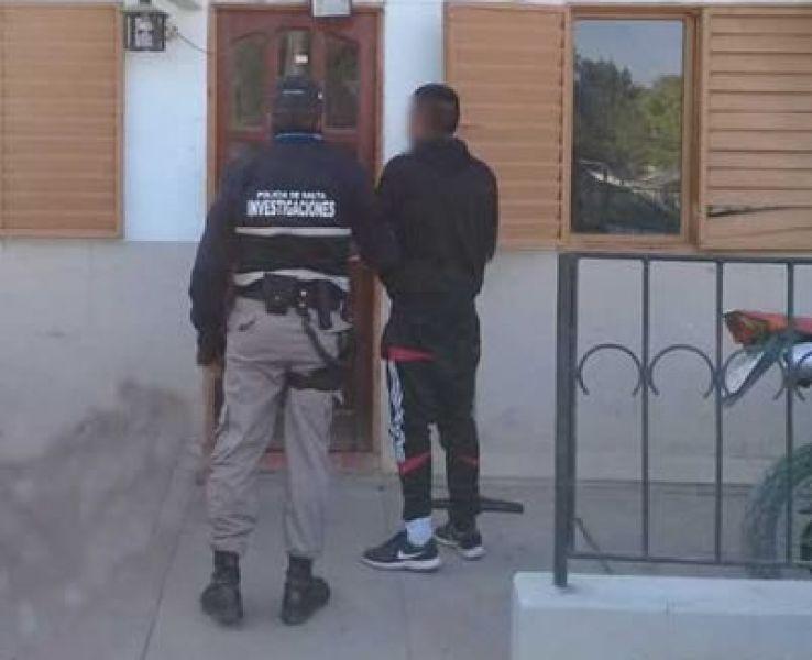 El delincuente fue detenido por efectivos de la Brigada de Investigaciones Nº 4.