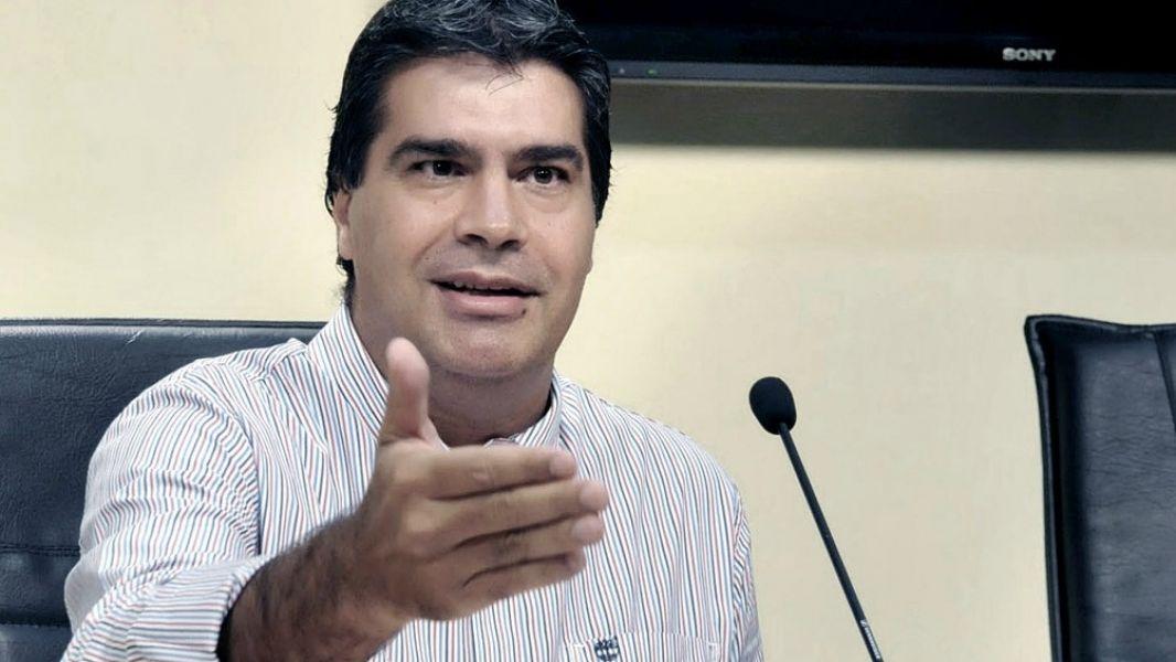 """El dirigente chaqueño Jorge Capitanich: """"Fue una campaña donde las ideas vencieron al aparato""""."""