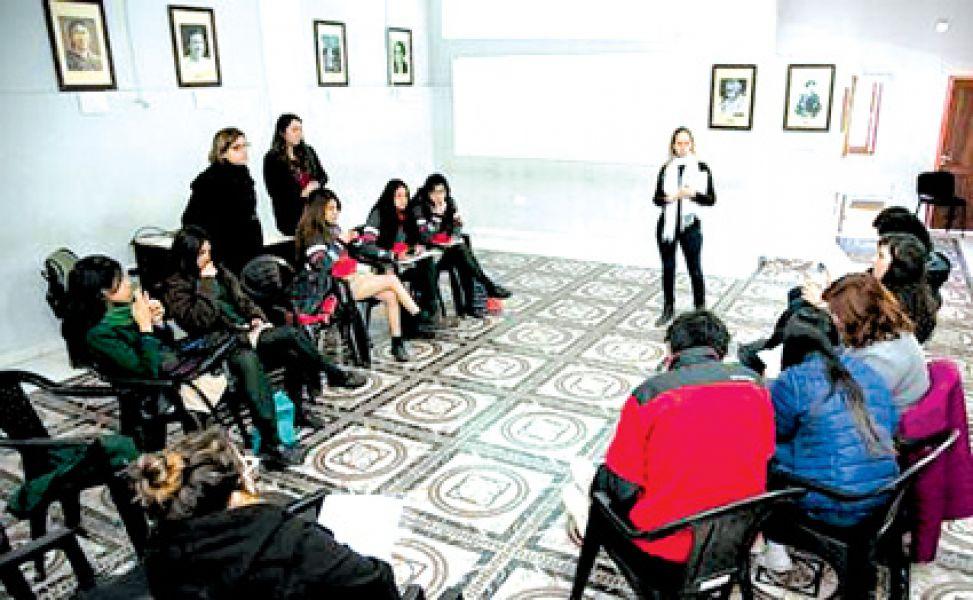"""Segunda jornada de capacitaciones a estudiantes sobre """"Protocolo de Actuación ante Situaciones de Bullying"""". El próximo taller será el 26 de agosto."""