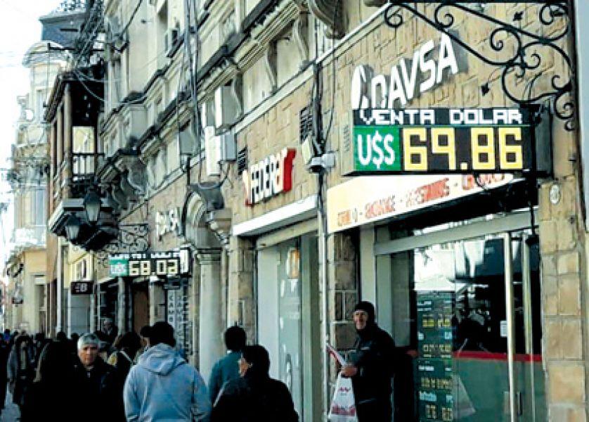 El día después de las elecciones en la city salteña, cerca del mediodía la cotización del dólar en Salta alcanzó los $70.