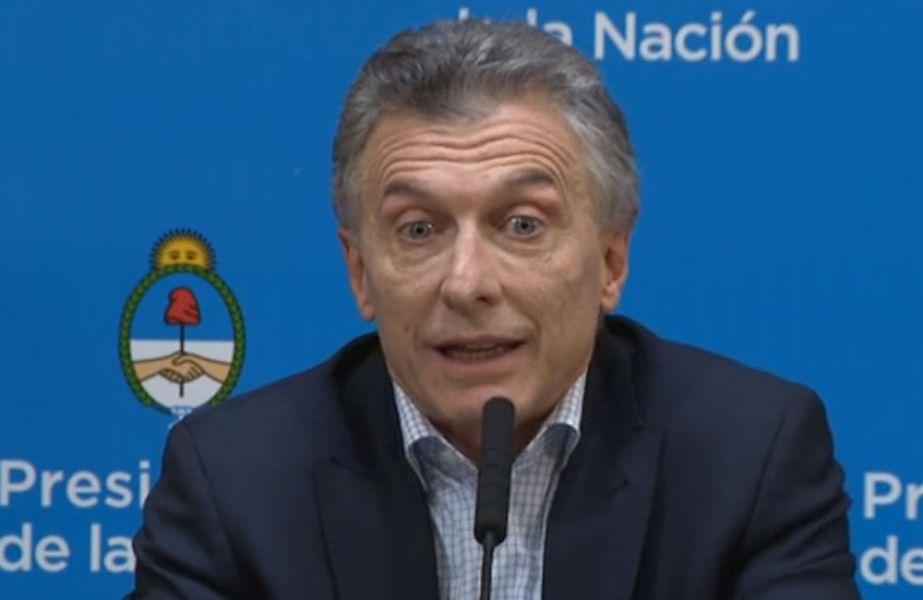 """""""Hoy estamos más pobres que antes de las PASO"""", dijo en su afán de campaña del miedo, Mauricio Macri ayer en conferencia de prensa."""